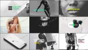 AE模板 简约主题时尚潮流的文字排版动画集