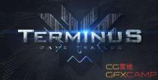 AE模板-金属钢铁质感三维文字游戏宣传片 Terminus Game Trailer