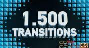 AE模板-图形平铺遮罩转场动画 Transitions