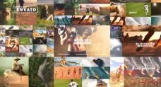 AE模板-简洁清晰幻灯片拼贴图片展示 Clean Slideshow