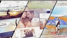 AE模板-手绘卡通风格家庭相册旅游图片展示 Hand Drawn Family Holi