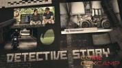 AE模板-悬疑侦探开场片头 Detective Story