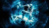 炫酷能量灯光动画艺术特效PS动作