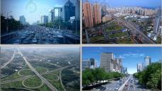 震撼科技化现代化城市交通宣传片视频素材免费下载