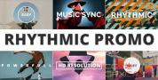 AE模板-图形遮罩快闪文字图片开场 Rhythmic Promo