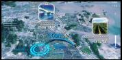 BT46AE模板区域核心科技感定位地图智慧城市规划演示视频制