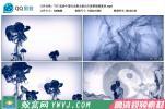 T17.高清中国风水墨太极功夫表演节目背景视频素材