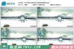 T10.中国风水墨江南水乡桥高清视频素材