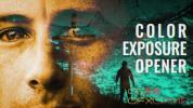 Pr模板-颜色多重曝光图片开场片头 Color Exposure Opener – Premiere