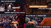 AE模板-嘻哈城市视频包装片头 HipHop Urban Opener