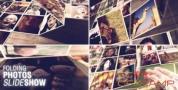 AE模板-折叠翻转照片墙相册片头 Folding Photos Slideshow