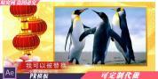 R4 PR模板 春节喜庆祝福视频图文展示