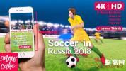 AE模板-卡通足球动画片头 Soccer