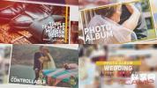 AE模板-轻松浪漫婚礼相册图片包装 Wedding Photo Album