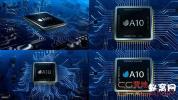 AE模板-微型电路板电路Logo动画 Microcircuit CPU Logo