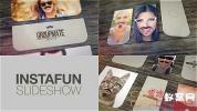 AE模板-胡子眼镜卡通装饰照片相册片头 Mustaches And Beards Funny S