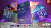 AE+PR模板-700组视频调色光效转场预设 700 Video Creation Suite V2 –