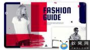 AE模板-时尚视频包装片头 Fashion Guide Media Opener