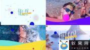 AE模板-时尚卡通夏天旅游视频片头 Summer Opener V2