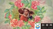 AE模板-浪漫回忆花朵相册边框照片展示片头 Lovely Slideshow