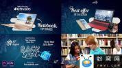 AE模板-学校元素视频包装片头 Back2School Broadcast Pack