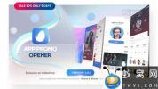 AE模板-三维手机iPhoneX APP宣传展示动画 Phone X – App Presentation