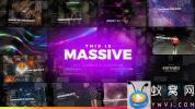 AE模板-大气图形遮罩图片开场 Massive – Epic Cinematic Slideshow