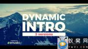 AE模板-动态笔刷遮罩图片开场 Dynamic Brush Intro