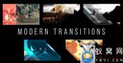 AE模板-图形遮罩视频转场 Modern Transitions 5 Pack Volume 3
