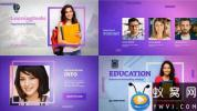 AE模板-教育学习宣传包装片头 Education Meetup – Educational Masterclass