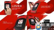 AE模板-iPhone XS手机APP动画大气优雅片头 App Promo Xs
