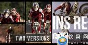AE模板-信号损坏动感视频宣传片头 Action Glitch Slideshow