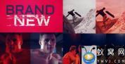 AE模板-动感体育视频宣传片头 Dynamic Sports Promo
