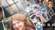 AE模板-图片翻转照片墙相册开场 Mosaic Photo Reveal