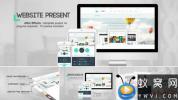 AE模板-商务网站宣传片头 Website Presentation