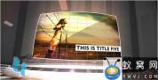 AE模板-三维环形舞台聚光灯视频图片文字展示 Stage theme