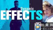 AE模板-活力动感视频开场 Dynamic
