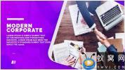 AE模板-商务图片介绍宣传片头 Corporate Trend