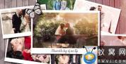 AE模板-美好婚礼照片相册片头 Wedding Day