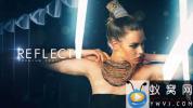 AE模板-时尚图片人物介绍包装 Reflect