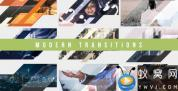 AE模板-图形遮罩视频转场 Modern Transitions 10 Pack Volume 4