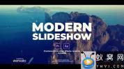 AE模板+PR预设-旅游视频包装片头 Slideshow