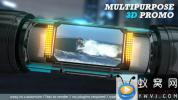 AE模板-三维体育栏目包装片头 Multipurpose 3D Promo