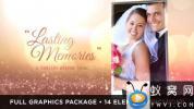 AE模板-婚礼回忆相册照片包装 Lasting Memories Wedding