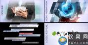 AE模板-公司商务栏目包装片头 Clean Corporate Package