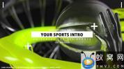 AE模板-三维体育栏目包装片头 Your Sports Intro