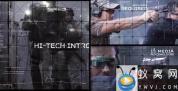AE模板-科技感视频宣传包装片头 Futuristic Action