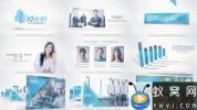 AE模板-商务企业公司合作宣传片头 Corporate Video