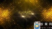 AE模板-金色背景颁奖典礼晚会包装 Awards