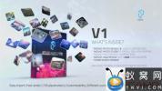 AE模板-三维照片墙汇聚Logo片头动画 Mosaic Photo Pack